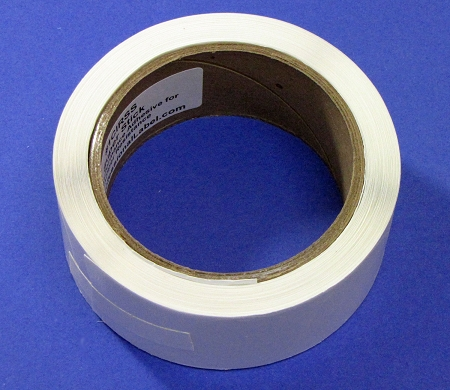 1 Inch Round Clear Label Seals Extreme Stick 500 Roll 1cires