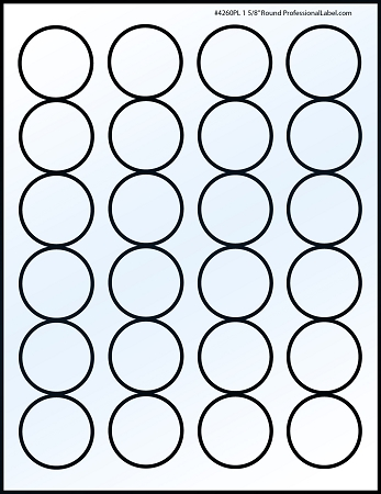 glossy circle labels glossy white inkjet printable labels 50 sheets