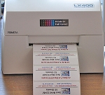 High Gloss Labels 4 x 1.5 for Primera LX400 Printer 74721