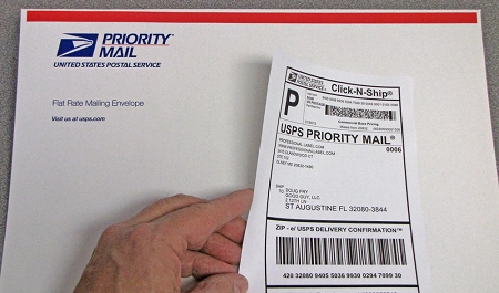 return mailing labels domestic mail manual s923 merchandise return service  usps return address labels 1