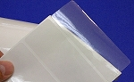 Clear Box Seal Labels 4 x 1.5 Inches 4 mil 500 roll CLR415V