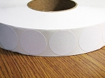 White Paper 1.5 inch Wafer Seals 60,000 WHT15WCTN 1 1/2