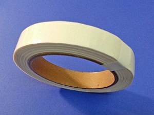 ".5"" x 1.5"" Clear Label Seals Extreme Stick 500 roll 515CLRES"