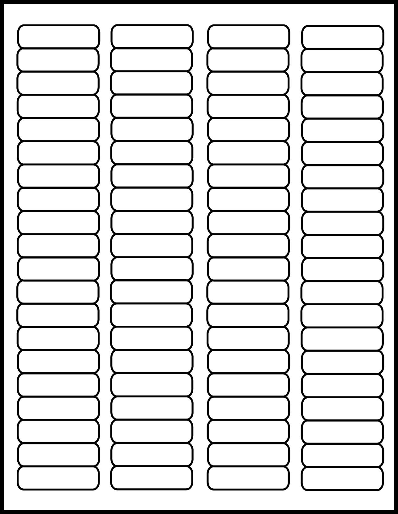 clear matte address laser labels 1 3 4 x 1 2 inch 50 sheets 1705cm