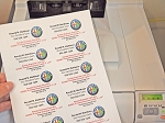 Business Cards on Sheets Laser and Inkjet Printable #235BC 25 Sheets