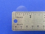 .75 inch 3/4 inch Round Clear Seal Label Sticker 500 roll 34CIR