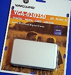 Secure Digital Card Media Holder Case for 8 Cards VGA0202SD