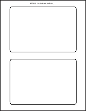 Shipping Labels 6.5 x 4.5 Inches Matte White 100 sheets 1200PL