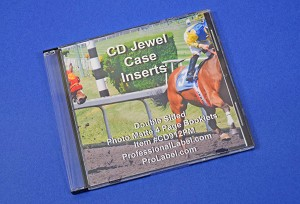 CD Jewel Case 2 Sided Photo Quality Insert Booklets 50 Sheets CD912PM