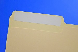 3 7/16 x 2/3 File Folder Labels Laser Inkjet White 50 sheets FF66W